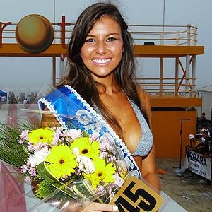 Em 2008, Raphaela Sirena recebeu a faixa; reveja (Zero Hora)