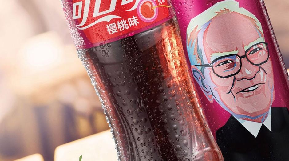 Coca-Cola de cereja terá o Warren Buffett como garoto-propaganda (Foto: Divulgação)