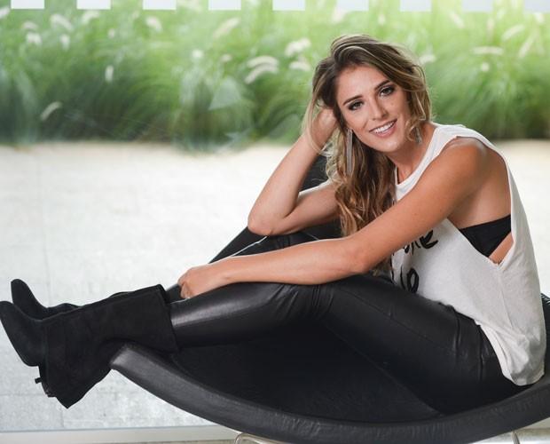 Rafa Brites é a nova apresentadora da Sala de Interatividade do SuperStar (Foto: Zé Paulo Cardeal/Globo)