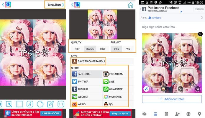 PhotoMirror: personalize sua foto com efeito de espelho no aplicativo Android P07