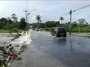 Em Juazeiro do Norte, chuva foi de 100 milímetros (Foto: Agência Miséria)