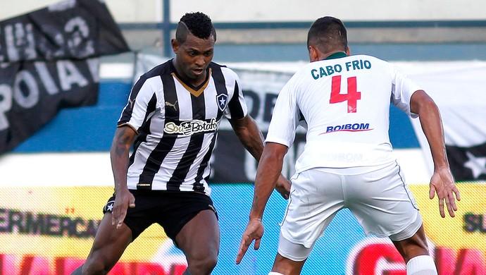 Jobson Botafogo x Cabofriense (Foto: Vitor Silva / SSPress)