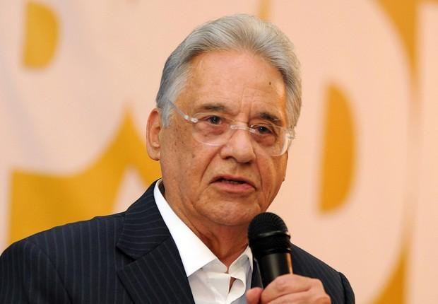 O ex-presidente Fernando Henrique Cardoso (FHC) (Foto: Divulgação)