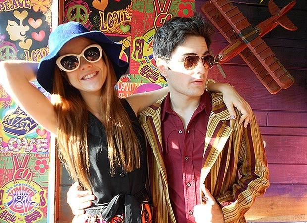 Morgana e Rafa (Foto: TV globo/Malhação)