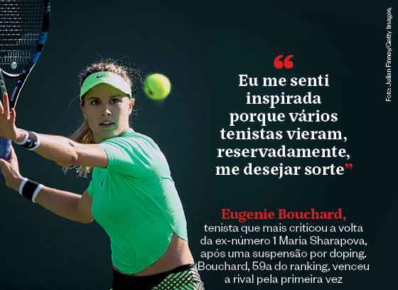 Frases que resumem a semana | Eugenie Bouchard (Foto: Julian Finney/Getty Images)