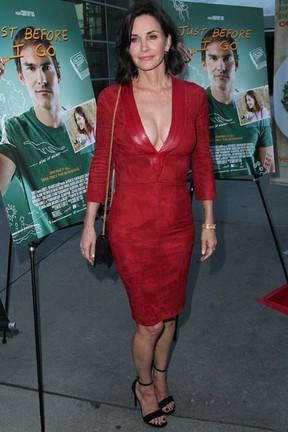 Courteney Cox em première em Los Angeles, nos Estados Unidos (Foto: David Buchan/ Getty Images/ AFP)