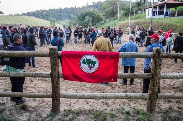 MST ocupa fazenda de Ricardo Teixeira (Foto: Divulgação MST Oficial/@MST_Oficial)