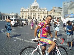Fernando Greco, ciclista (Foto: Arquivo Pessoal)