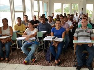 São Pedro da Aldeia inicia curso para formar novos guardas municipais (Foto: Jefferson Viana/Ascom São Pedro da Aldeia)