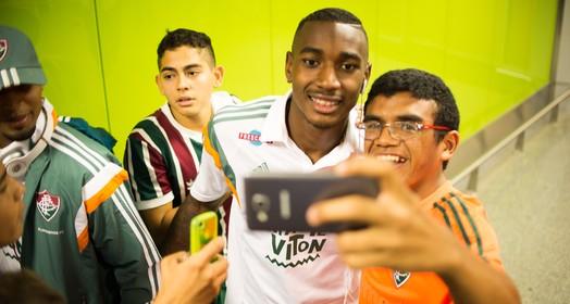 bem na foto (Bruno Haddad / Fluminense)