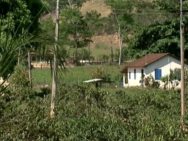 Casa fica localizado em Burarama (Foto: Reprodução/ TV Gazeta)