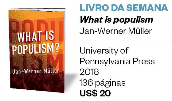 What is populism?, de Jan-Werner Müller (Foto: Divulgação)