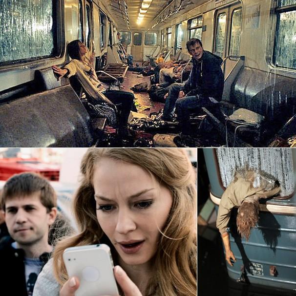 Cinema Especial desta quarta-feira, dia 4, exibe o filme catástrofe russo 'Panico no Metrô' (Foto: Divulgação)