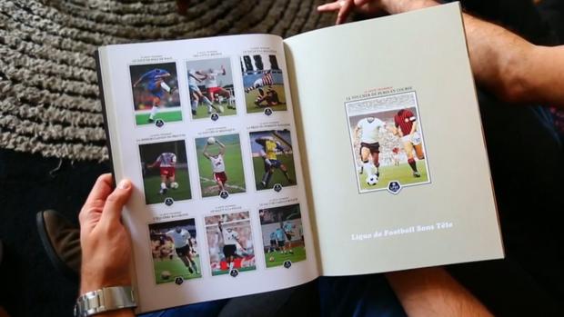 Liga de futebol sem cabeça; Slip; França; Futebol, uma viagem (Foto: Reprodução SporTV)