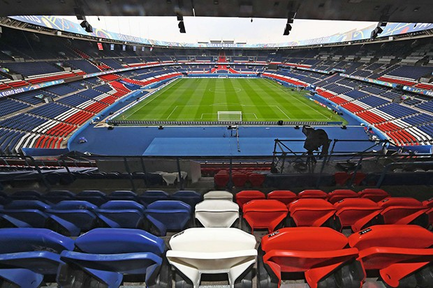 PARIS, FRANCE - JUNE 07:  A general view of Parc des Princes stadium ahead of the UEFA Euro 2016 on June 7, 2016 in Paris, France.  (Photo by Alex Grimm - UEFA/UEFA via Getty Images) (Foto: UEFA via Getty Images)