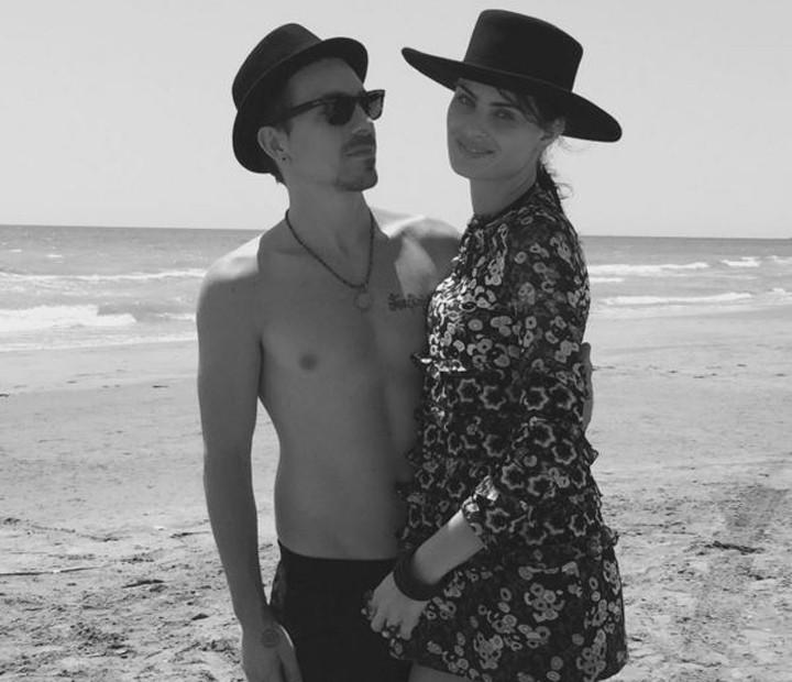 Di Ferrero e Isabeli Fontana estão noivos há um ano (Foto: Arquivo Pessoal)
