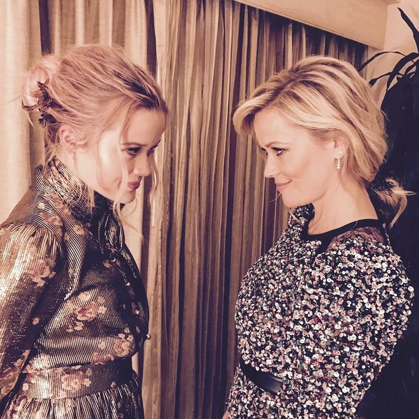 Reese Witherspoon e Ava Philippe (Foto: Reprodução Instagram)