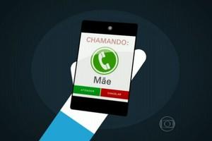 Mãe cria aplicativo que bloqueia celular de filho que não atende ligação (Reprodução/TV Globo)