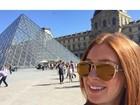 Marina Ruy Barbosa compartilha foto em clima de férias em Paris