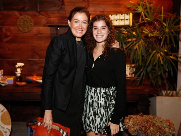 Lilia Cabral com a filha (Foto: Ellen Soares / Gshow)