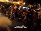 Ciclistas de BH tiram a roupa para pedir mais segurança no trânsito