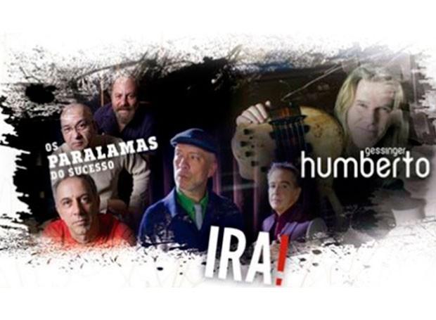 IRA!, Paralamas do Sucesso e Humberto Gessinger (Foto: Divulgação/ RPC)