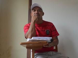 Glayson Renato condenado por tráfico de drogas. (Foto: Luana Leão/G1)