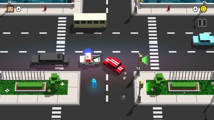 Loop Taxi é um game casual onde você pode dirigir de forma completamente errada (Foto: Divulgação / Gameguru)