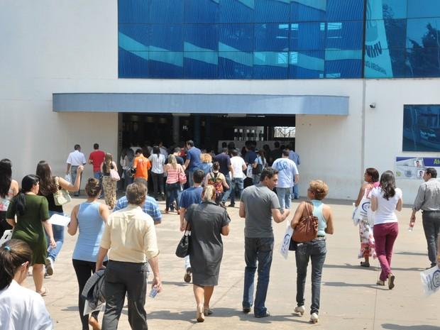 Exame da OAB em Campo Grande (Foto: Hélder Rafael/G1 MS)