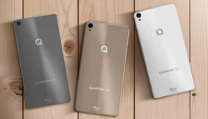 Quantum Go, primeiro smartphone da Quantum, é dual-chip intermediário (Foto: Divulgação)