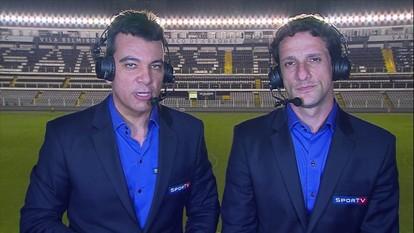 Comentaristas analisam empate entre Santos e Grêmio