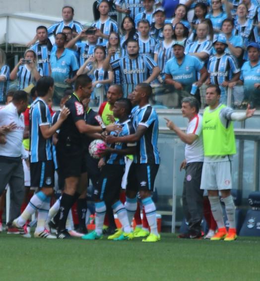 de pertinho (Diego Guichard/GloboEsporte.com)