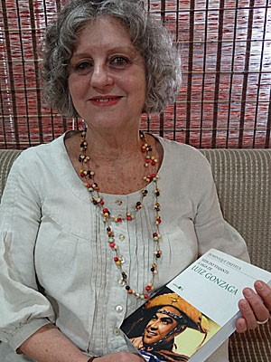 Dominique Dreyfus - biógrafa de Luiz Gonzaga (Foto: Luna Markman / G1)