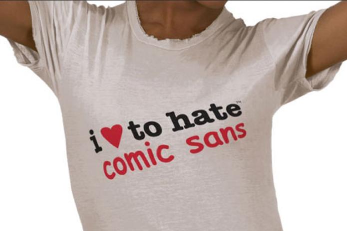Todos amam odiar a comic sans, será? (Foto: Reprodução/IloveCS)