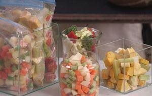 Como fazer seleta de legumes congelada