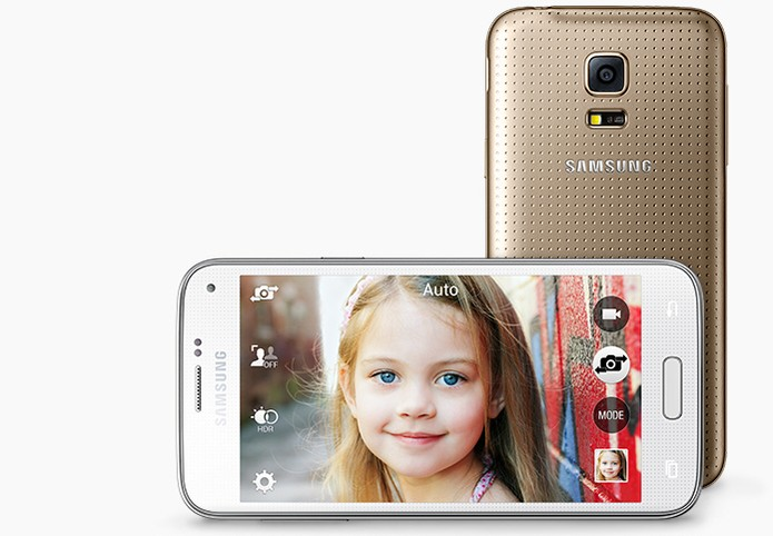 Câmera do Galaxy S5 mini não surpreende em comparação com seu antecessor, S4 Mini (Foto: Divulgação/Samsung)