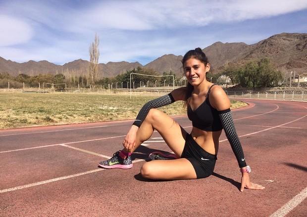 A corredora argentina Sofia Luna (Foto: Instagram/Reprodução)