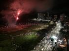 Milhares comemoram a virada de ano nas praias do litoral paranaense