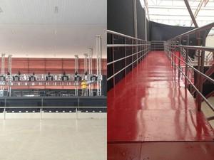 Nova estrutura conta com rampas de acesso (Foto: Vanessa Vasconcelos/G1)
