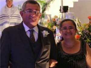 Casal morto depois de festa de casamento em Campina Grande (Foto: Reprodução / TV Paraíba)
