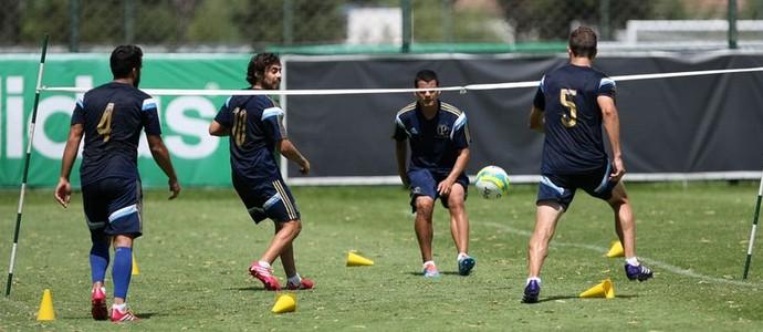 Mendieta Valdivia Eguren Victorino Palmeiras (Foto: Cesar Greco/Ag Palmeiras/Divulgação)