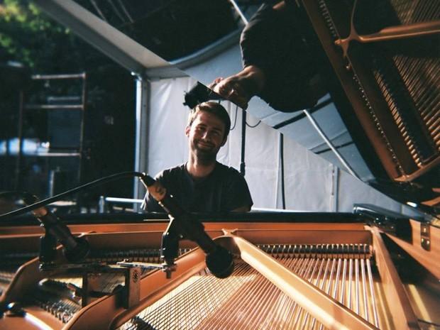 Pianista francês Jean Kapsa (Foto: Oliver Degabriele/DIvulgação)