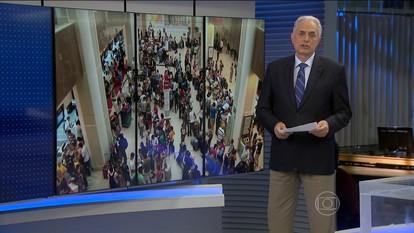 Mais de 200 voos são cancelados por causa do mau tempo no Rio de Janeiro