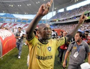 Seedorf, Botafogo campeão da Taça Guanabara (Foto: André Durão)