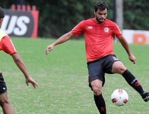 Rodrigo Alvim treino Flamengo (Foto: Maurício Val / VIPCOMM )