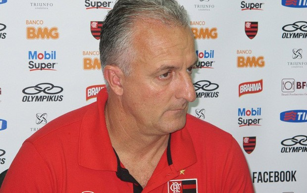 Dorival Junior coletiva Flamengo (Foto: Richard Souza / Globoesporte.com)