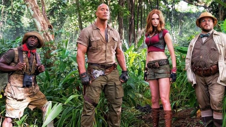 'Jumanji: Bem-Vindo à Selva': novo filme tem Dwayne Johnson, Kevin Hart, Karen Gillian e Jack Black no elenco (Foto: Divulgação )