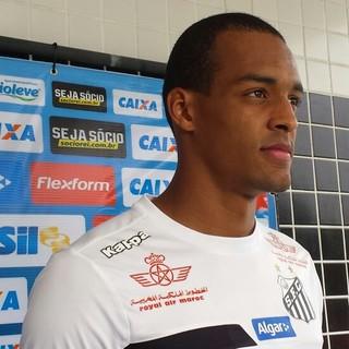 Luiz Felipe, Santos (Foto: Bruno Giufrida)