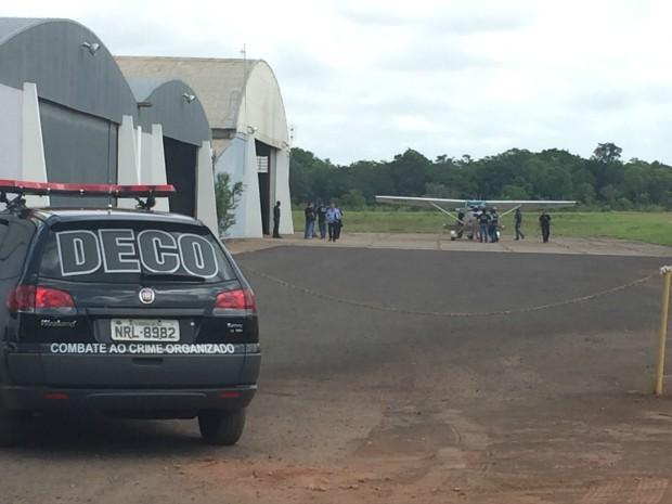 Operação Ícaro em MS (Foto: Gabriela Pavão/G1 MS)