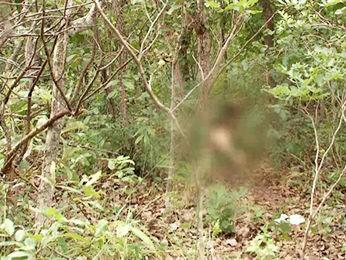 Corpo de professor foi encontrado após prisão de um suspeito. (Foto: Reprodução/TVCA)